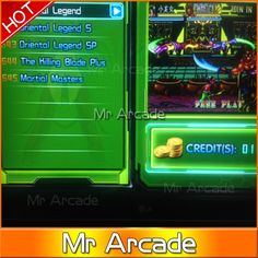 41.80$  Buy here  - New Arrival 645 in 1 game box multi game board Upgraded Version CGA & VGA output for Arcade Game Cabinet