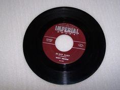 Ricky Nelson 45 RPM Record Be Bop Baby Have I Told You Lately Maroon Label