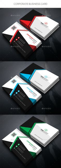 Corporate Business Card - Corporate Business Cards Download here : https://graphicriver.net/item/corporate-business-card/19295057?s_rank=196&ref=Al-fatih