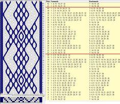 32 tarjetas, 2 colores, repite cada 20 movimientos // sed_909b diseñado en GTT༺❁