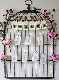 vintage bird cage centerpieces | Pretty Birds | Plan Your Perfect Wedding | The UK's best monthly ...