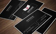 Metro Business Card CM144 by annozio on @creativemarket