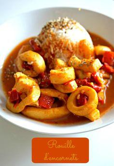 Une rouille d'encornets allégée mais délicieuse, pleine de saveurs méditerranéennes