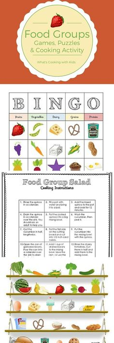 This Food Group and Nutrition Bundle contains interactive games, puzzles and sorting activities, along with a healthy recipe that will help to build vocabulary and teach life skills encourage and healthy eating habits. Not only is this activity bundle