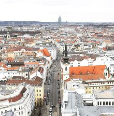 View of Vienna from the Sofitel Hotel, Vienna (Wein) @alexandermchale_