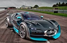 Citroen Survolt, this is an all electric sports car.