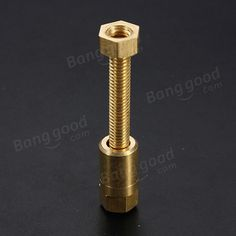 Nut Off Bolt Screw Close-Up Magic Trick Micro Psychic Rotating - US$4.20