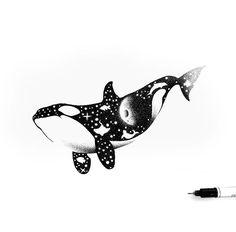 Orca Tattoo, Whale Tattoos, Ocean Tattoos, Body Art Tattoos, Tatoos, Orca Art, Dolphin Art, Whale Art, Killer Whale Tattoo