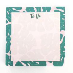 Image of Palm Leaf Sticky Notes