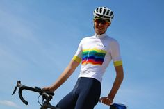Cycling Kit, Rainbow Jersey from www.parle.cc