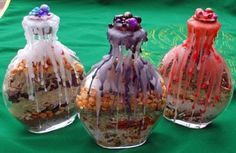 witch bottle, to remove negative energy from a home or person. would make a different housewarming item or shower gift