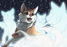 A lovely night [Warrior Cats] by OwlCoat on DeviantArt Warrior Cats Fan Art, Warrior Cats Series, Warrior Cats Books, Warrior Cat Drawings, Anime Animals, Cute Animals, Love Warriors, Warriors Game, Female Warriors
