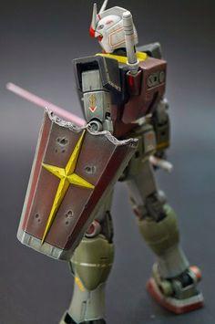 ガン王2014 MG Gundam Ver.2.0: ガンダム「哀・戦士」 Beautiful Work by MS329. Photoreview Large Images http://www.gunjap.net/site/?p=188074