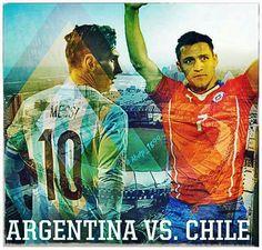 Messi vs. Alexis (+) Bravo / Argentina vs. Paraguay. Copa America Chile 2015.