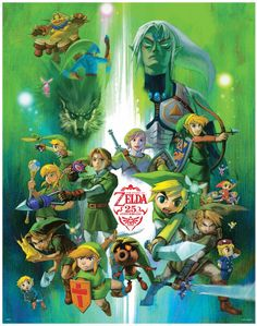 """Eternal Hero - """"No matter what, there will always be a Link to save the day."""""""