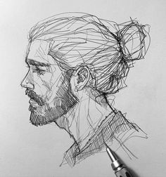 Efraín Malo is a Spanish sketch artist. In his works he makes pencil sketch and gives life to drawings. Art Drawings Sketches Simple, Pencil Art Drawings, Cool Drawings, Pencil Sketch Drawing, Face Sketch, Portrait Sketches, Cool Sketches, Sketch Art, Creative Sketches