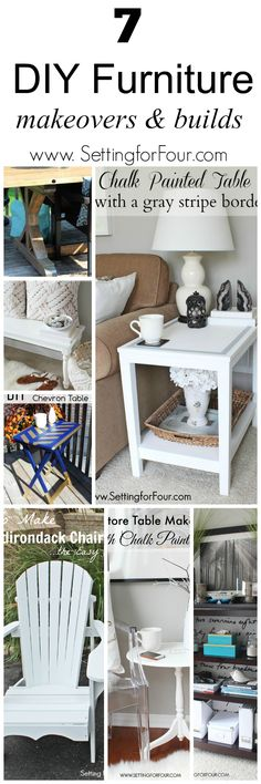 7 Beautiful DIY Furniture Makeovers and Builds Save money and build your own furniture and refresh dated pieces Redo Furniture, Refurbished Furniture, Home Furniture, Furniture Hacks, Furniture Makeover Diy, Home Decor, Diy Furniture Projects, Home Diy, Furnishings