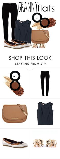 """Granny Flats"" by lululafitte on Polyvore featuring moda, Glo Minerals, J Brand, MICHAEL Michael Kors, Marni, Sperry Top-Sider y Cartier"