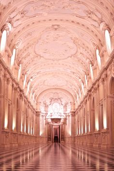Reggia Venaria Reale, Turin, Italy i  could get lost here and live happily every after.