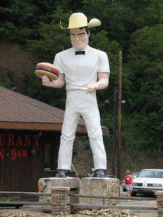 Cowboy Muffler Man, Kittanning, PA