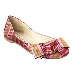 striped flats #shoes #stripes