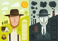 Progress? by Peter Donnelly, via Behance