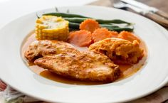 All-in-one chicken dinner. Yummy!! It will be a staple in our house!