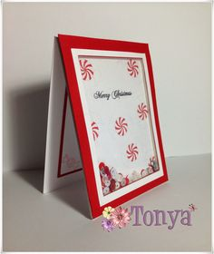 Scrapping Fun with Tonya: Sweet Shaker Christmas Card Tutorial (a Silhouette project)
