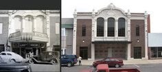 MO-Moberly - 4th St Theater then & now by plasticfootball, via Flickr