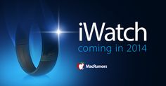 iWatch Coming Soon.