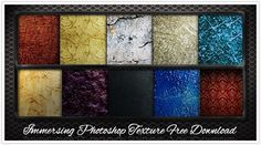 Immersing Photoshop Texture Free Download