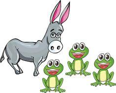 Fábulas infantiles: El asno y las ranas #fábulas #cuentos