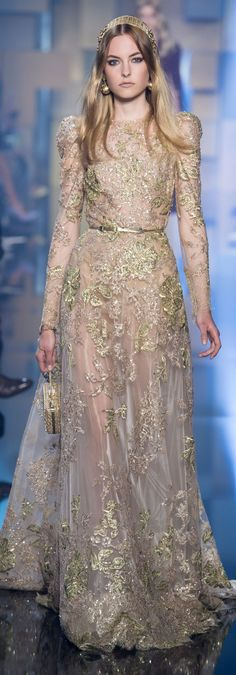 Elie Saab fall 2015 couture. For more follow www.pinterest.com/ninayay and stay positively #inspired