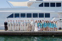 Aqua wedding -yacht