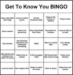Free printable bingo cards activities pinterest human bingo get to know you bingo more maxwellsz