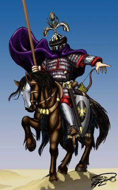 Mamluk Amir on battlefield