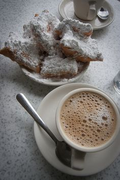 Beignets at Cafe du Monde- One Great Weekend:What to do in New Orleans www.casualtravelist.com