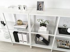 Ikea 'Vittsjö' shelves @minimomlistic