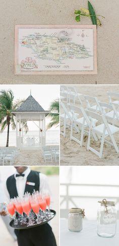 Intimate Romantic Jamaica Wedding