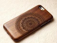 Wood iPhone 6 case iphone 6 caseiphone 6plus iphone 5 por dnalsh