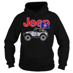 Jeep Chicago Cubs shirt the NBA Season. Tom Brady Shirt, Chicago Cubs Shirts, Wrangler Accessories, Sunflower Shirt, Cream Style, Cool Jeeps, Nba Season, Girl Falling, Lady V