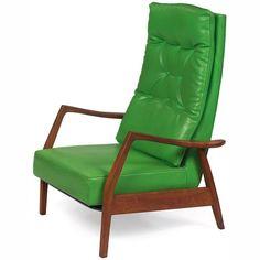 Milo Baughman recliner, for James Inc., 1972