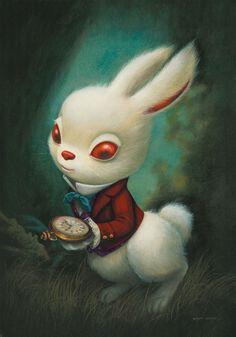 Lapin D Alice Au Pays Des Merveilles : lapin, alice, merveilles, Meilleures, Idées, Lapin, Blanc, Blanc,, Lapin,, Alice, Merveilles