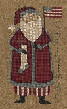 Santa's Flag - Teresa Kogut Design