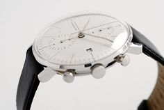 Hi Everyone, I came across the Junghans Max Bill chronoscope and automatic watches and, well, I haven't slept much since. Men's Watches, Luxury Watches, Cool Watches, Fashion Watches, Watches For Men, Wrist Watches, Fancy Watches, Dream Watches, Max Bill