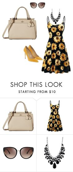 """""""Untitled #28"""" by ivananna on Polyvore featuring Coach, Oscar de la Renta, 2028 and Bally"""