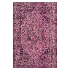 cool Safavieh Artisan Collection ATN330F Vintage Oriental Fuchsia Cotton & Jute Area Rug