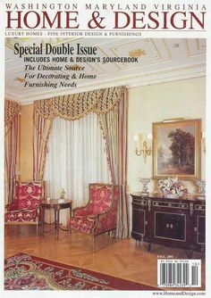 Home & Design - Fall 2001 - Cover
