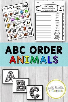 Alphabet ABC Order a