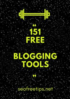 Blogging is not a hard work. You just need to use best  tools for bloggers which will help you to grow your business,  increase traffic and will save your time